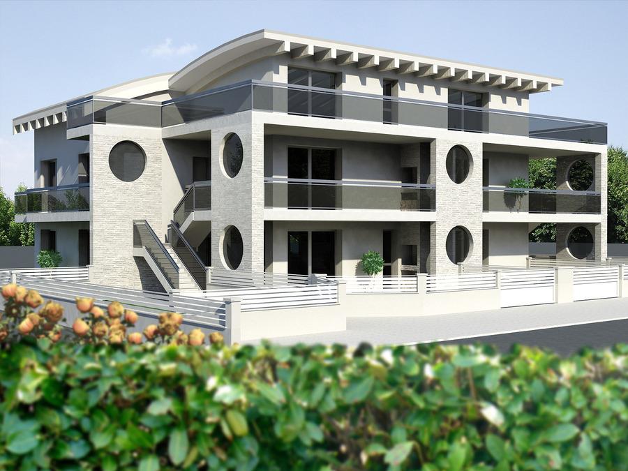 Appartamenti nuova costruzione fronte mare for Palazzine moderne