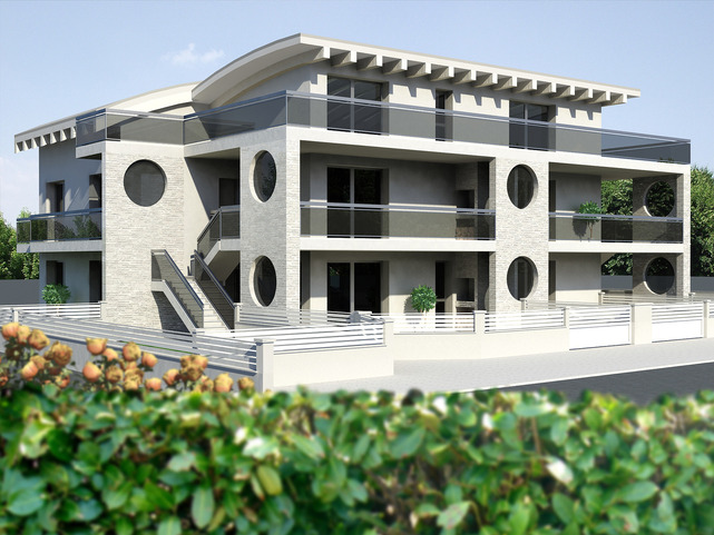New Design Sea Front Apartments in Sea View