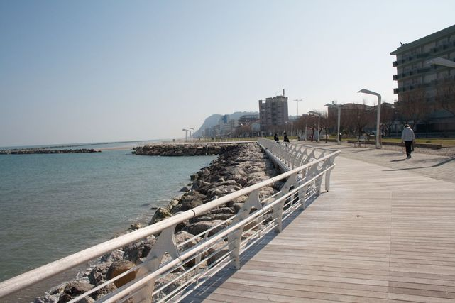 Top Floor Apartment Sea View Villa Liberty Center Pesaro