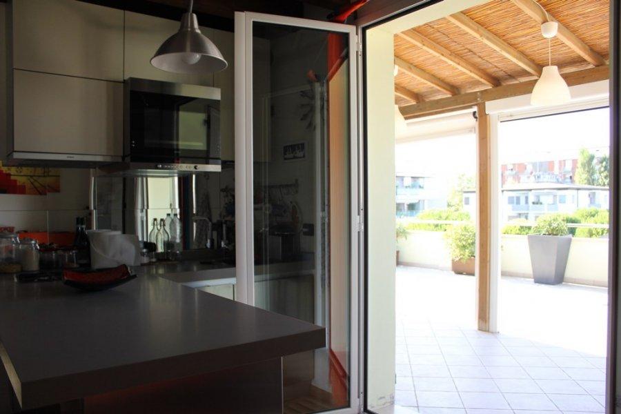 Vendita attico nuovo con grande terrazzo vista mare centro - Cucina sul terrazzo ...